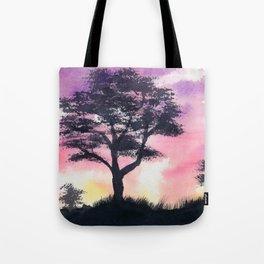 Safari Sunset Tote Bag