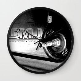 3DMJ Black Outline Wall Clock