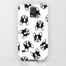 French bulldog pattern Galaxy S5 Slim Case
