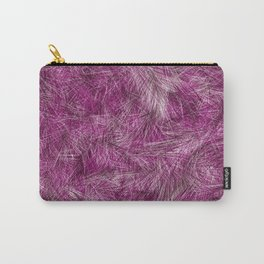 Purple And Burgundy Paint Brush Blots Carry-All Pouch