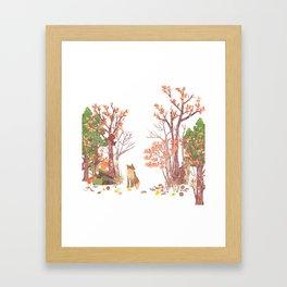Hide and seek | Miharu Shirahata Framed Art Print