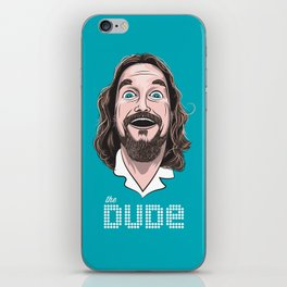 The Dude iPhone Skin