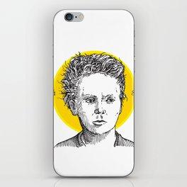 St. Marie Curie iPhone Skin