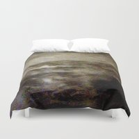 scotland Duvet Covers featuring Scotland  by Maria Julia Bastias
