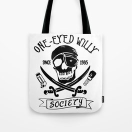 Goonies One Eyed Willy Tote Bag