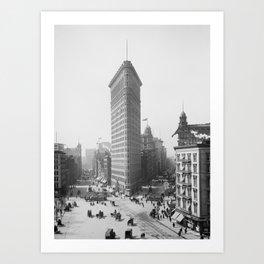 Flatiron Building - Vintage New York - 1902 Art Print