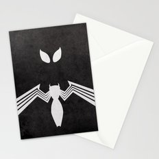 Spider-Man Black Costume Stationery Cards