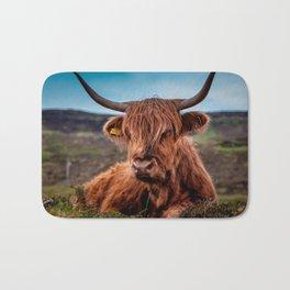 Scottish Highland longhorns Rancher Bath Mat