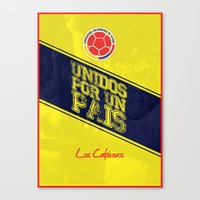 colombia Canvas Prints featuring Colombia by liamhohoho