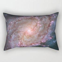 NASA Hubble Telescope Galaxy Photograph Duvet Cover & More Rectangular Pillow