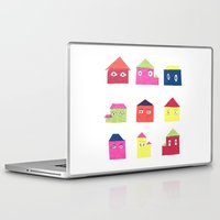 the neighbourhood Laptop & iPad Skins featuring The Suburbs by Chloe Evert