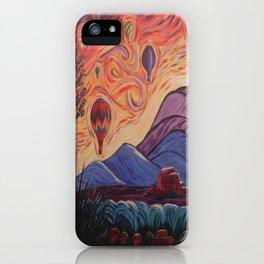 The Balloony Sunrise iPhone Case