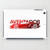 lamborghini iPad Cases featuring Lamborghini Aventador - classic red - by Vehicle
