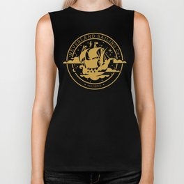 Neverland Sailing Co. Biker Tank