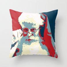 Santa Can Throw Pillow