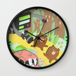 Run Run Run Wall Clock
