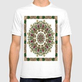 Mandala No. 8 - Ruby, Emeralds & Diamonds T-shirt