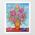 Vase Of Flowers by johnspeaker