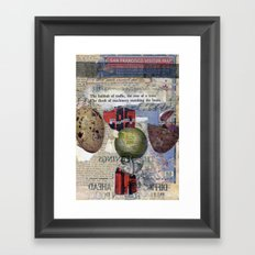 The Numbing of Atlas Framed Art Print