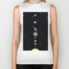 Planetary Solar System Biker Tank