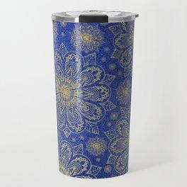 Midnight Mandala Travel Mug