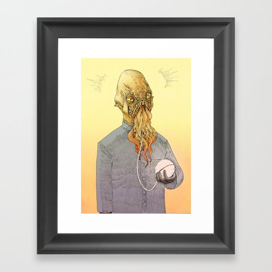 The ood Framed Art Print