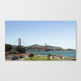 Golden Gate Park Canvas Print