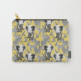 Safari - yellow Carry-All Pouch