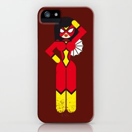 Spider Woman iPhone Case