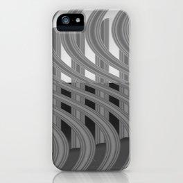 Crazy greylines 4 iPhone Case