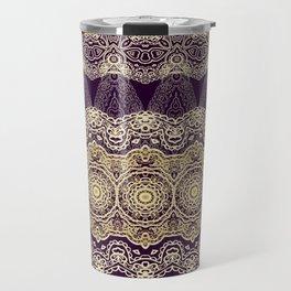 Oriental lace ornament Travel Mug