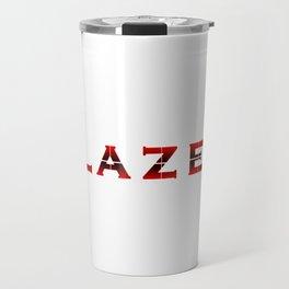 Blazer Logo Graphic Travel Mug