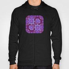 Hydrangea Paisley Abstract Hoody