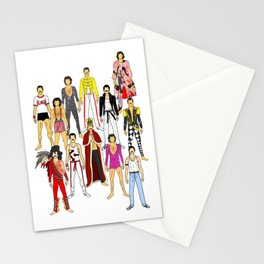 Freddie Line Up Stationery Cards