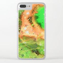 Space in negative 1 Clear iPhone Case