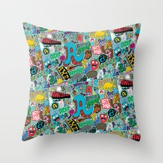 A Pattern Throw Pillow