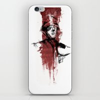 soldier iPhone & iPod Skins featuring Soldier by JaneKreates