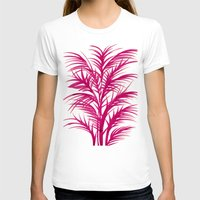 palms T-shirts featuring Pink Palms by Cat Coquillette