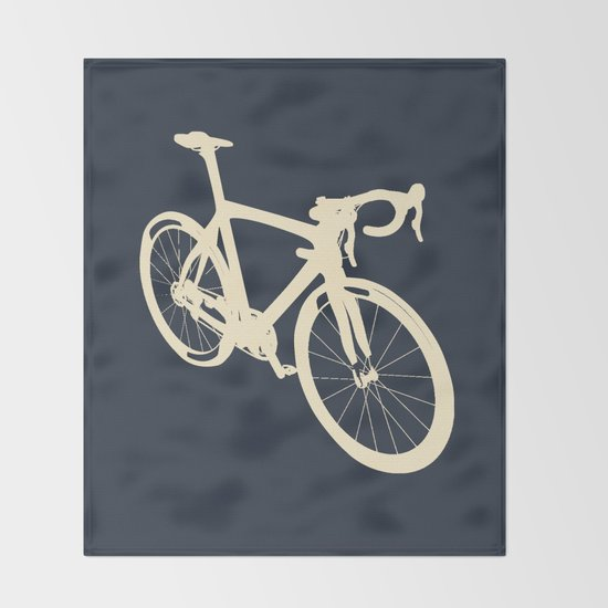 Bicycle - bike - cycling Throw Blanket