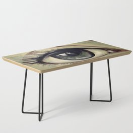 Eyes are Windows to the Soul Coffee Table
