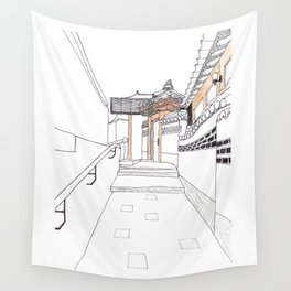 Bukchon in Seoul Wall Tapestry