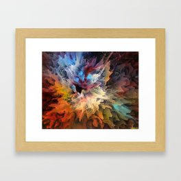 The Birth of a Star Framed Art Print