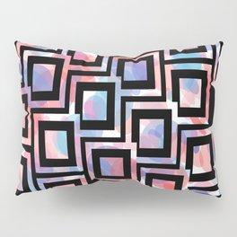 Black and White Squares Pattern 06 Pillow Sham