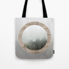 At the still point of the turning world. Tote Bag