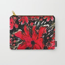 Redder Flower Carry-All Pouch
