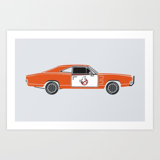The Busted General Art Print