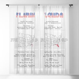 Florida Sheer Curtain