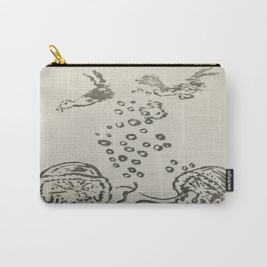 Under The Sea Sketch Carry-All Pouch