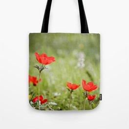 Anemones in the Sun Tote Bag