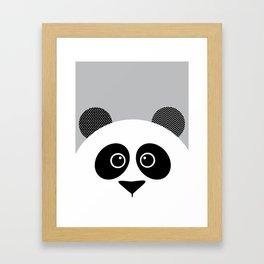 panda nursery wall art kids room art zoo animal wall decor home decor decorating ideas Framed Art Print